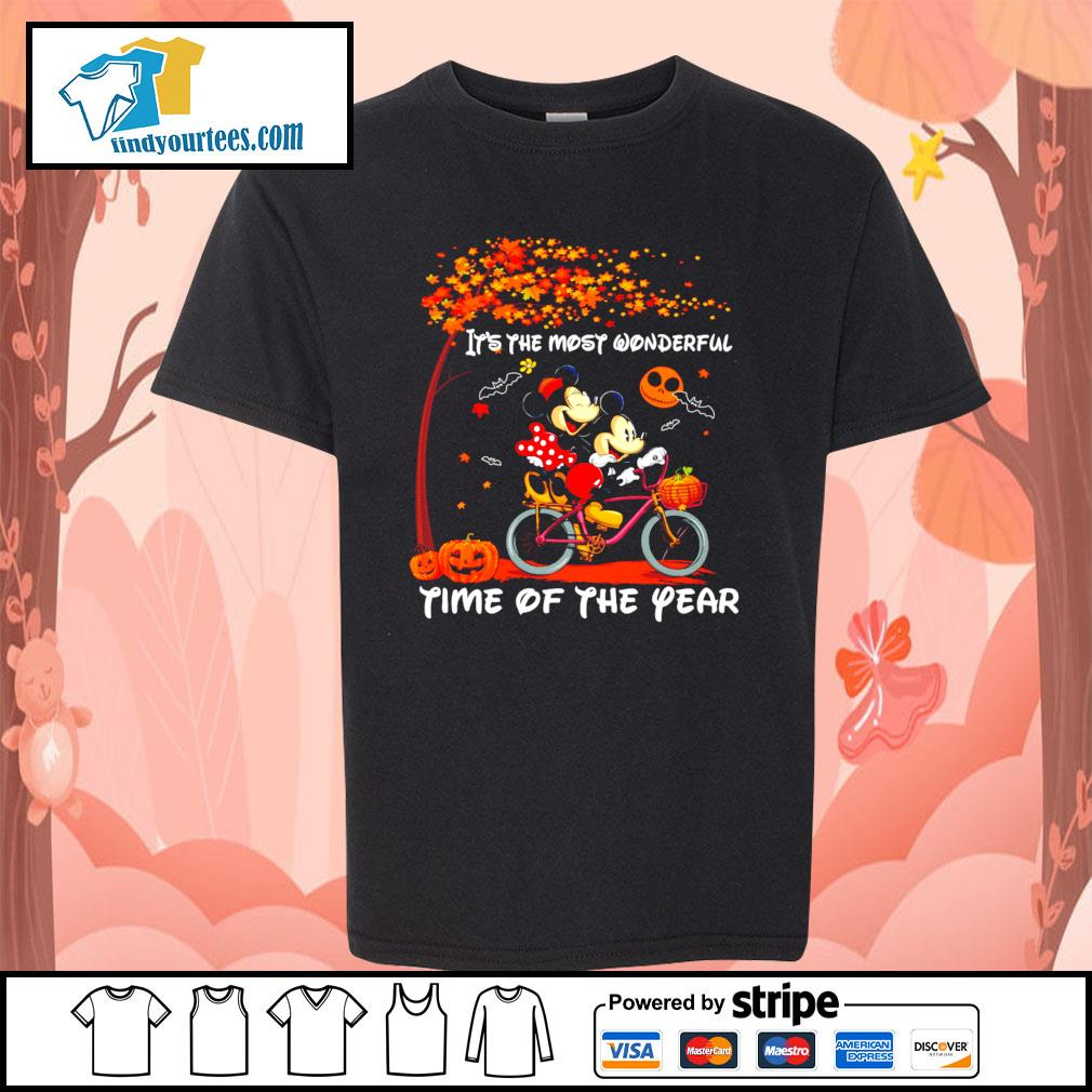 Mickey mouse It's the most wonderful time of the year Halloween s Kid-T-shirt