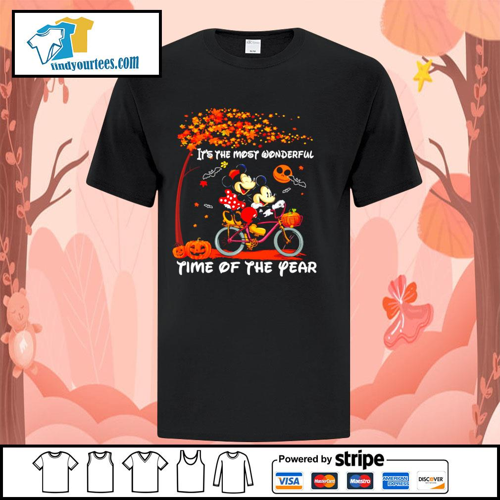 Mickey mouse It's the most wonderful time of the year Halloween shirt