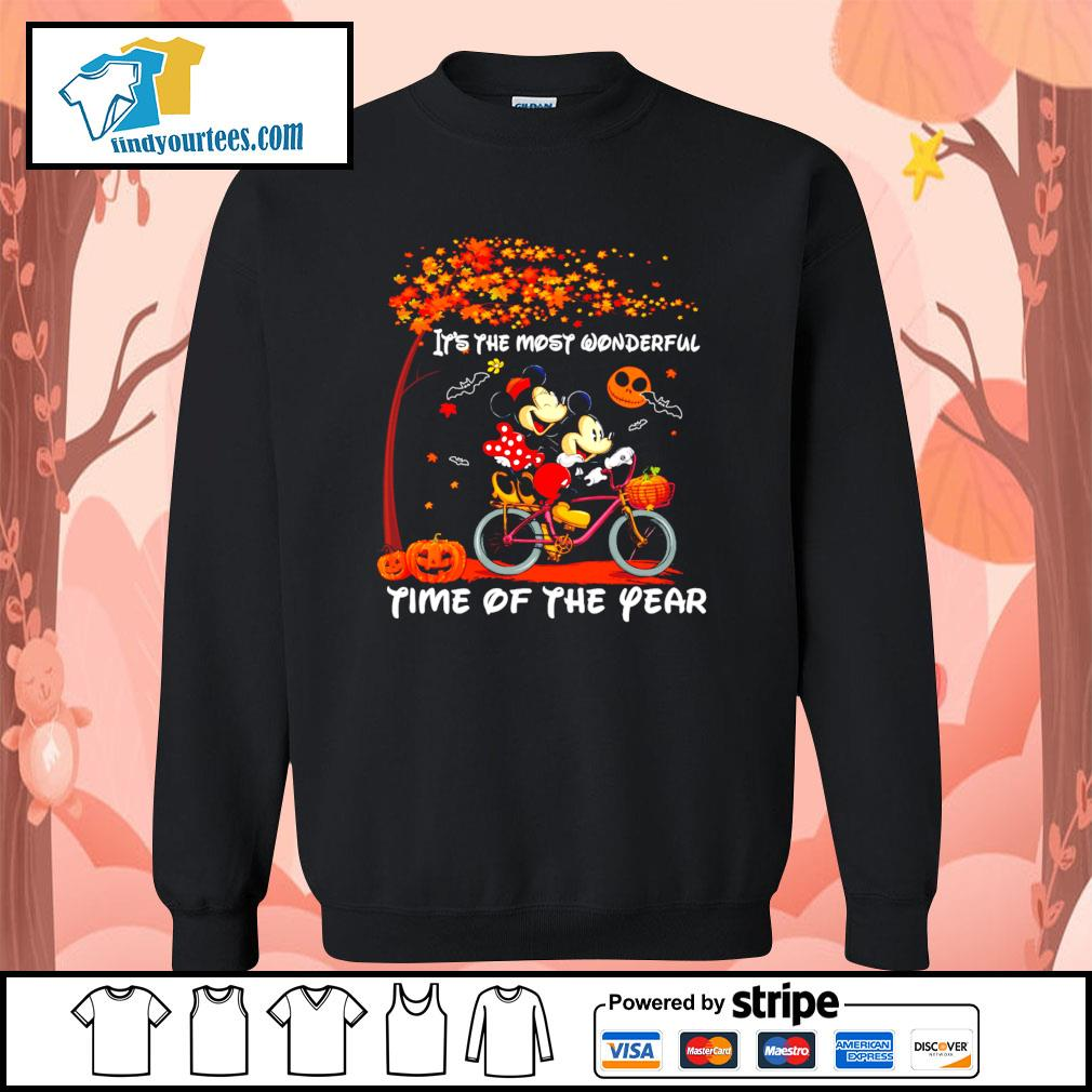Mickey mouse It's the most wonderful time of the year Halloween s Sweater