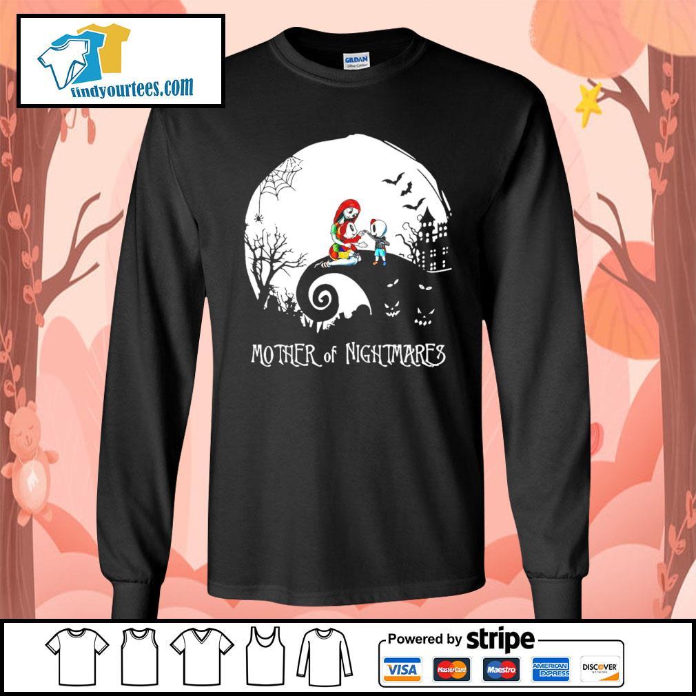Mother of Nightmares girl and boy Halloween s Long-Sleeves-Tee