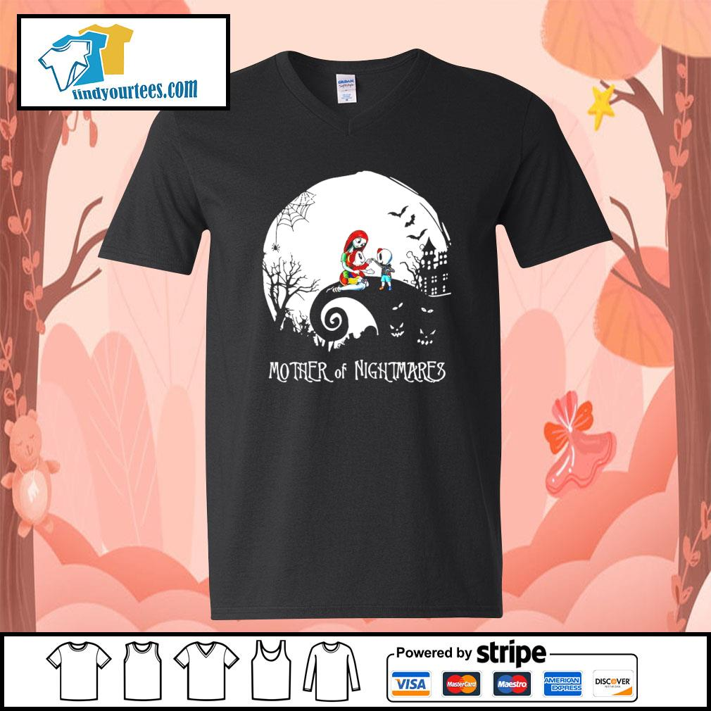 Mother of Nightmares girl and boy Halloween s V-neck-T-shirt