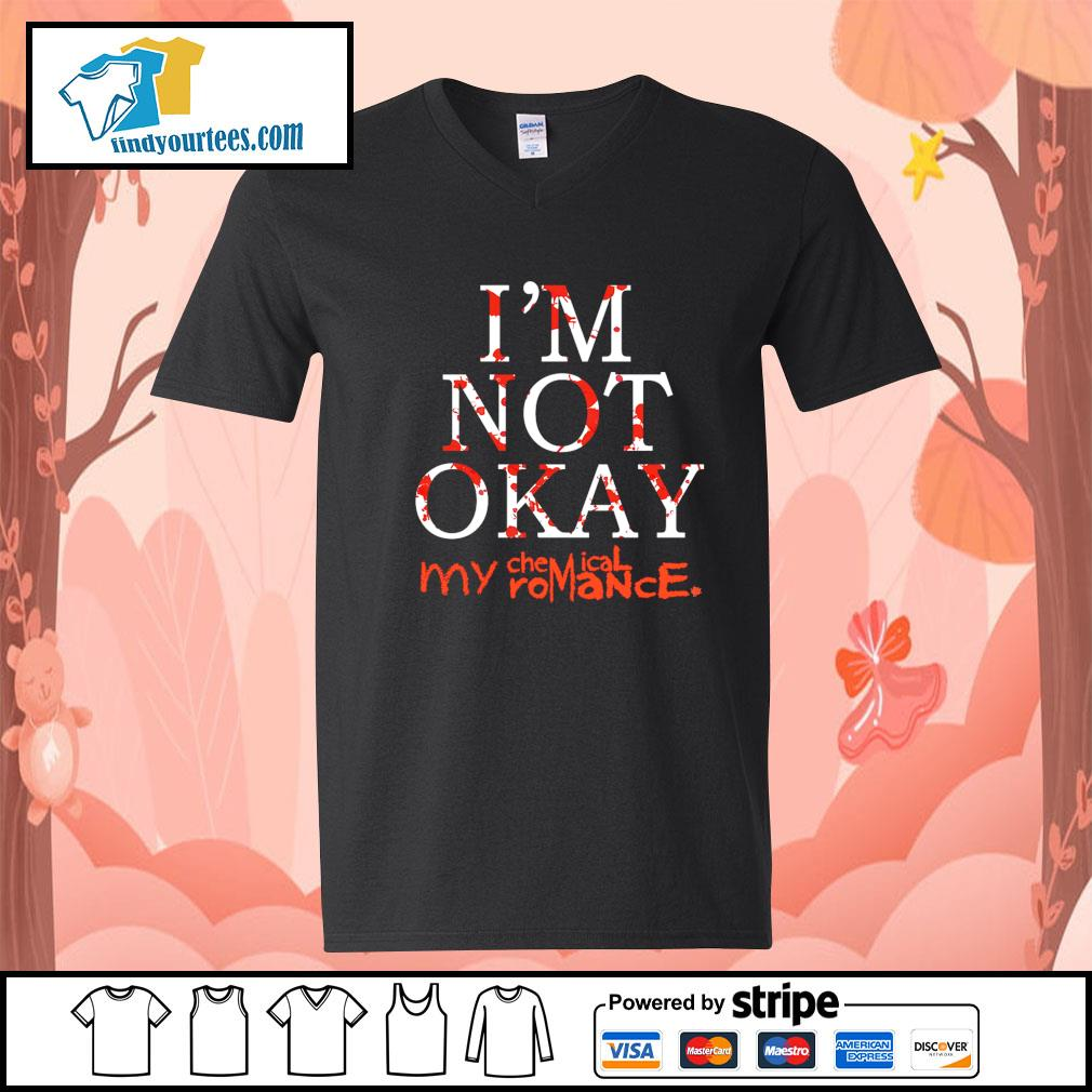 My Chemical Romance I'm Not Okay s V-neck-T-shirt