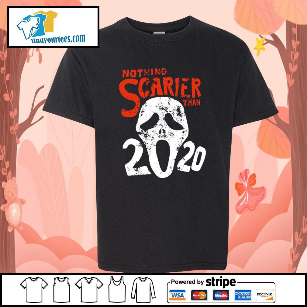 Nothing Scarier than 2020 Halloween s Kid-T-shirt