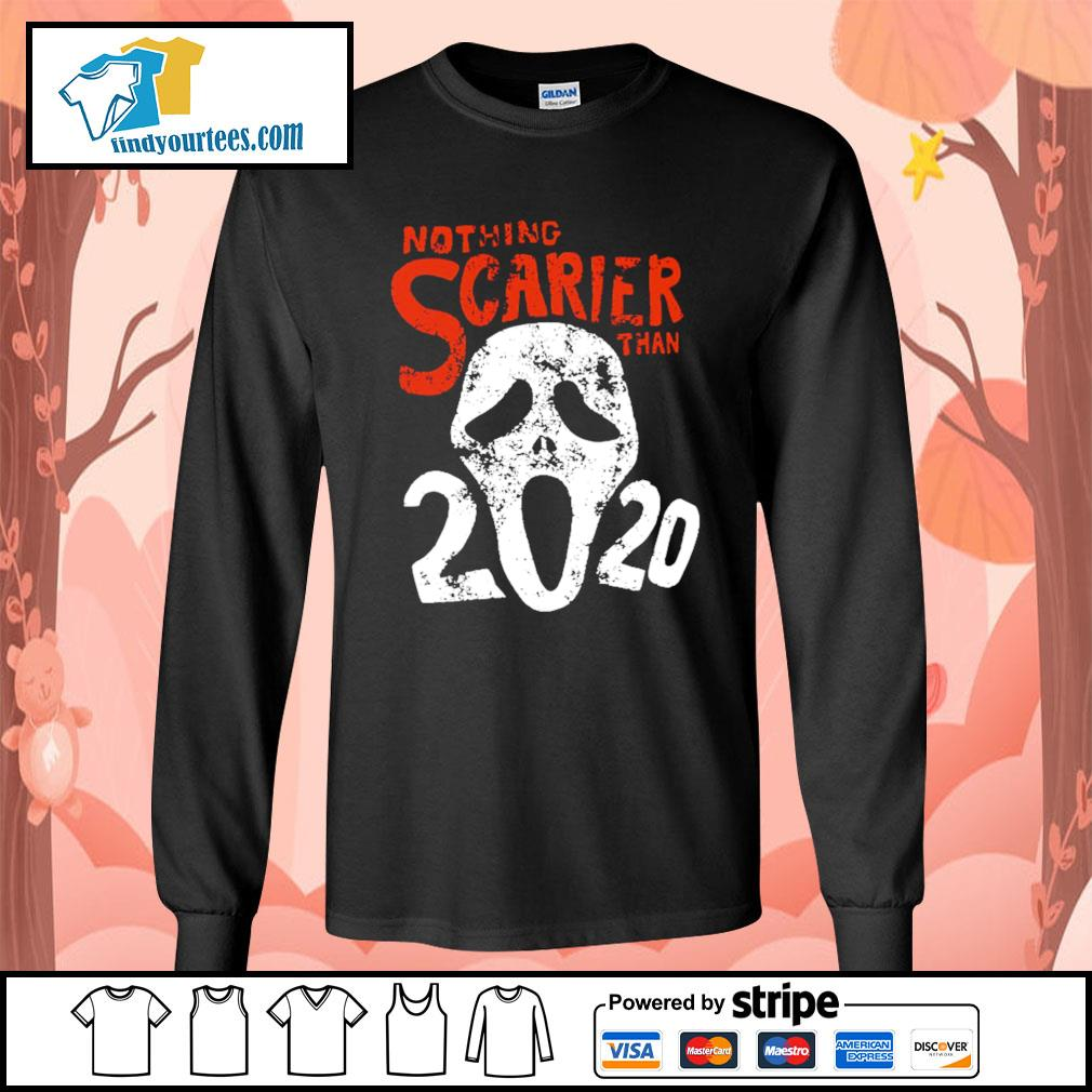 Nothing Scarier than 2020 Halloween s Long-Sleeves-Tee