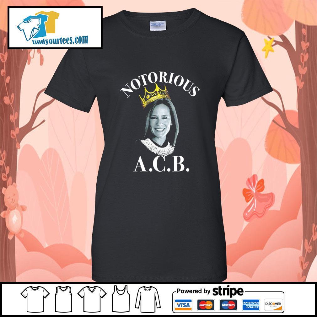 Notorious ACB Amy Coney Barrett s Ladies-Tee