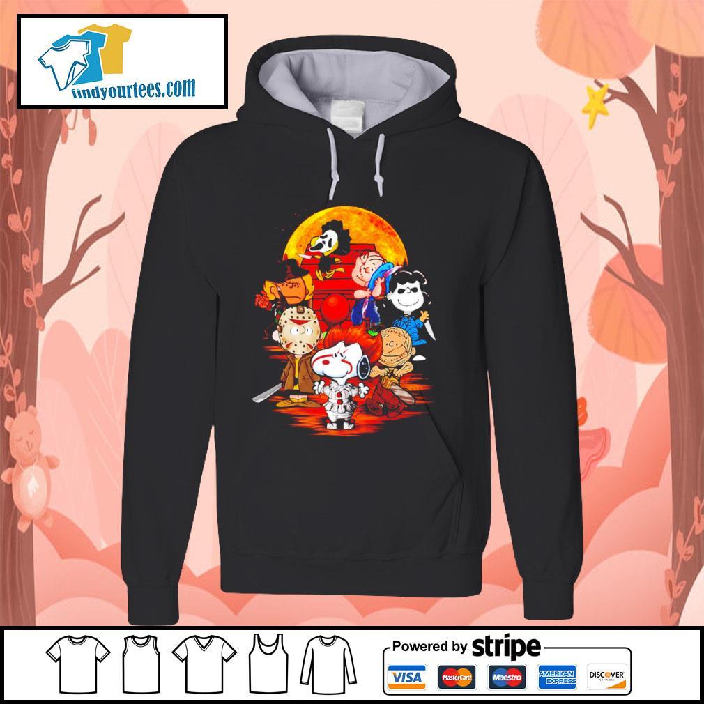 Peanuts characters Halloween shirtt Hoodie