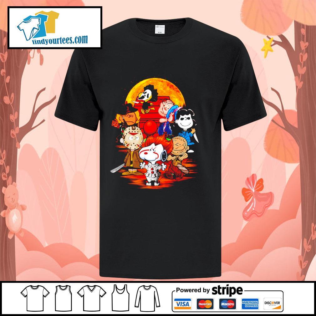 Peanuts characters Halloween shirtt