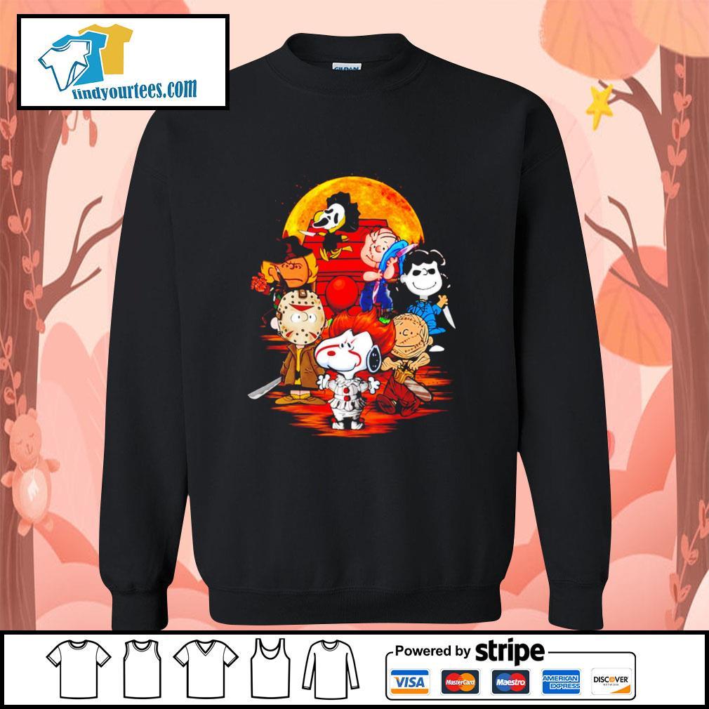 Peanuts characters Halloween shirtt Sweater