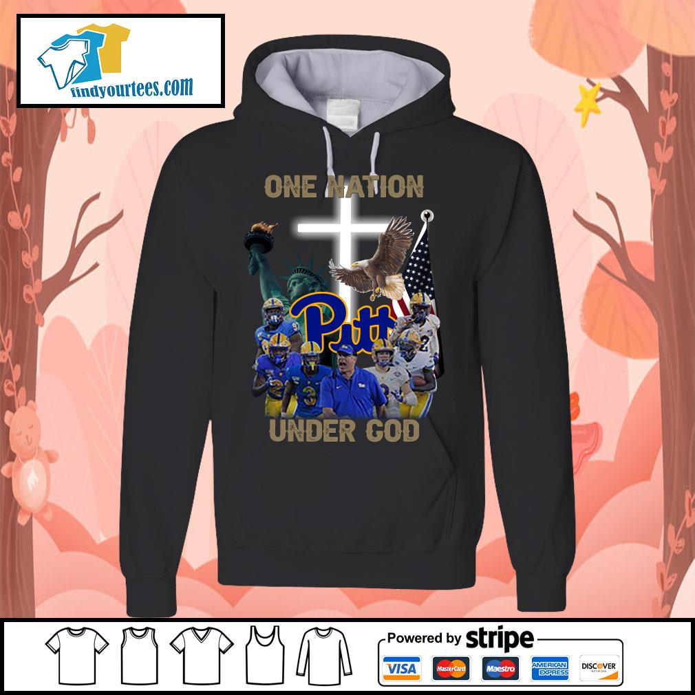 Pittsburgh Panthers one nation under god s Hoodie
