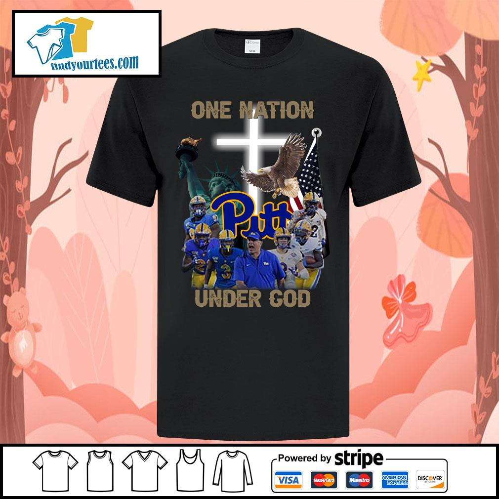 Pittsburgh Panthers one nation under god shirt