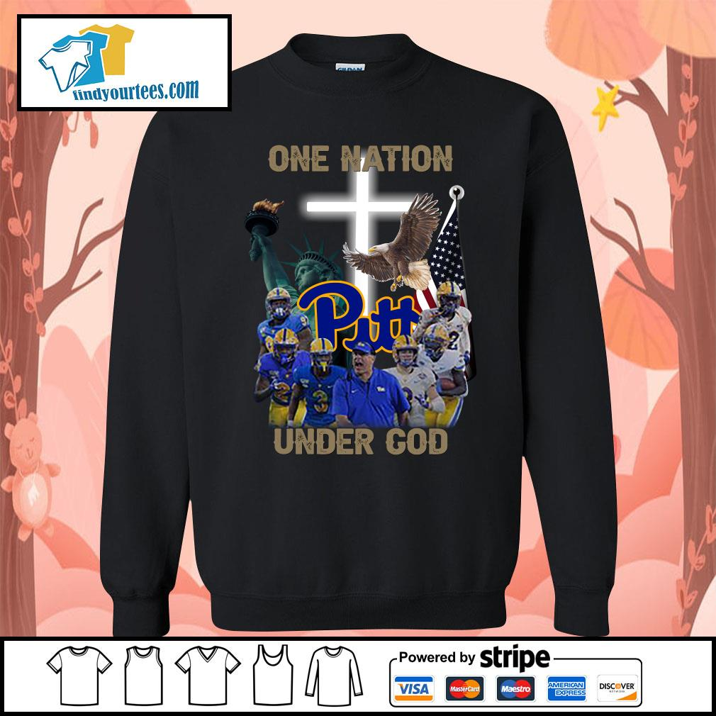Pittsburgh Panthers one nation under god s Sweater