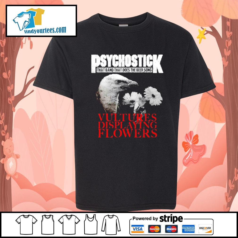 Psychostick that band that does the beer song Vultures Displaying Flowers s Kid-T-shirt