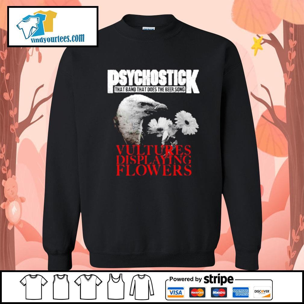 Psychostick that band that does the beer song Vultures Displaying Flowers s Sweater