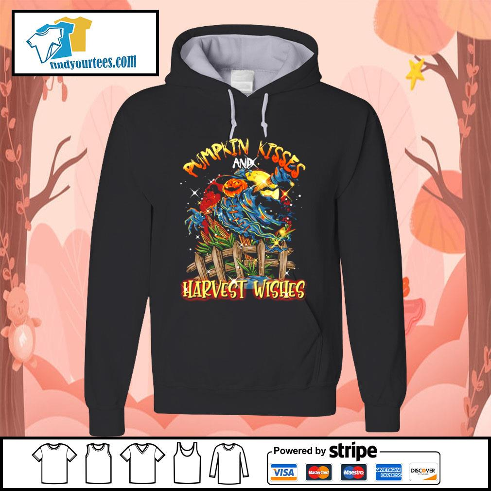 Pumpkin kisses and Harvest wishes s Hoodie