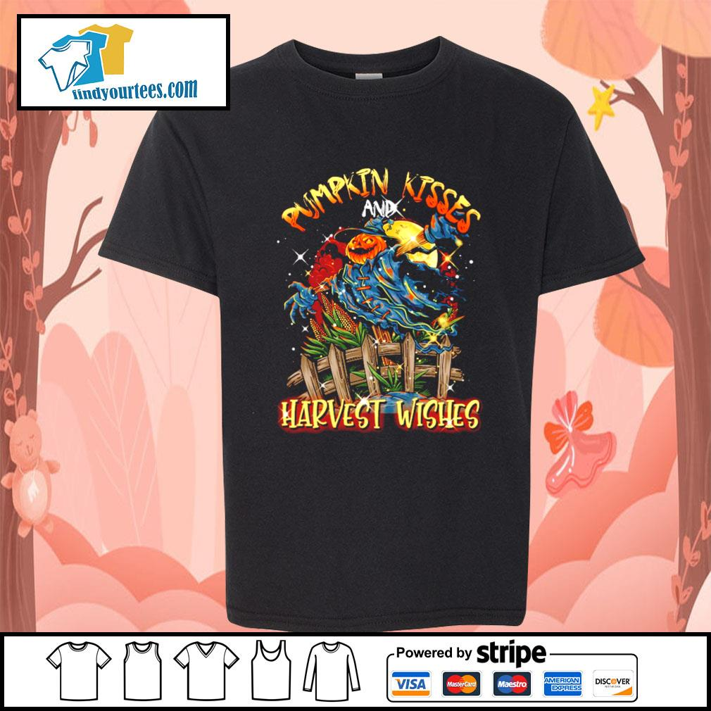 Pumpkin kisses and Harvest wishes s Kid-T-shirt