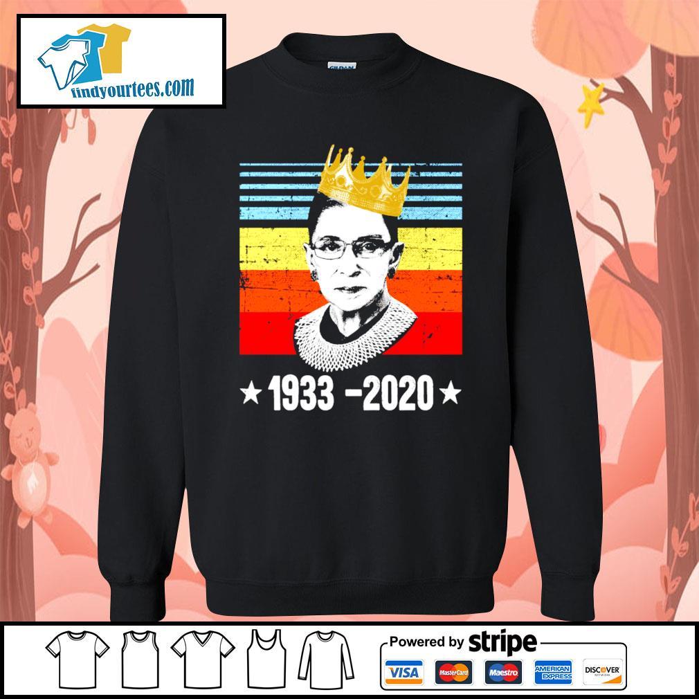 RBG Ruth Bader Ginsburg 1933 2020 vintage s Sweater