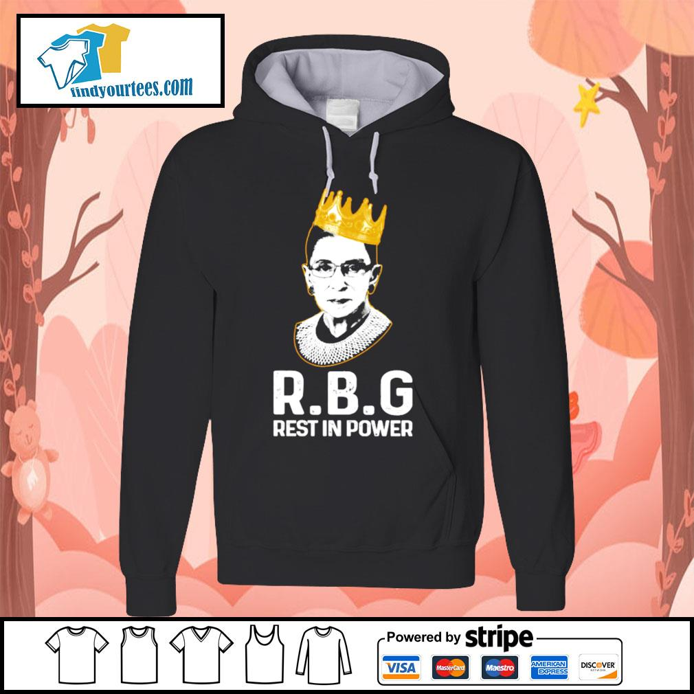 RBG Ruth Bader Ginsburg rest in power s Hoodie