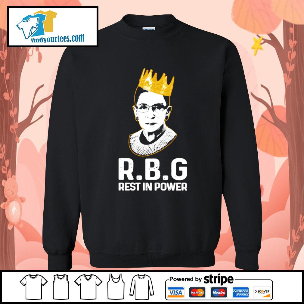 RBG Ruth Bader Ginsburg rest in power s Sweater