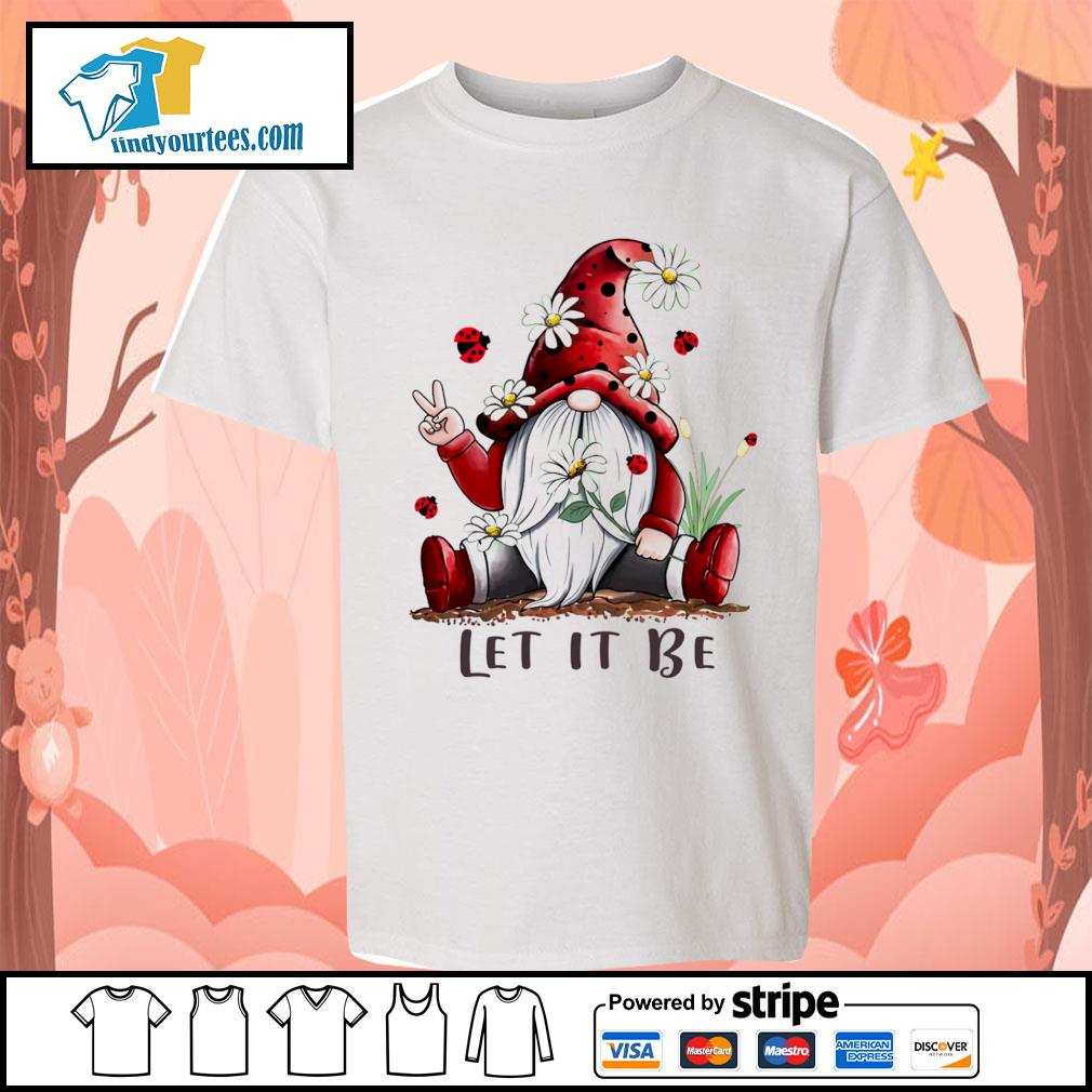 Red Gnomes let it be s Kid-T-shirt