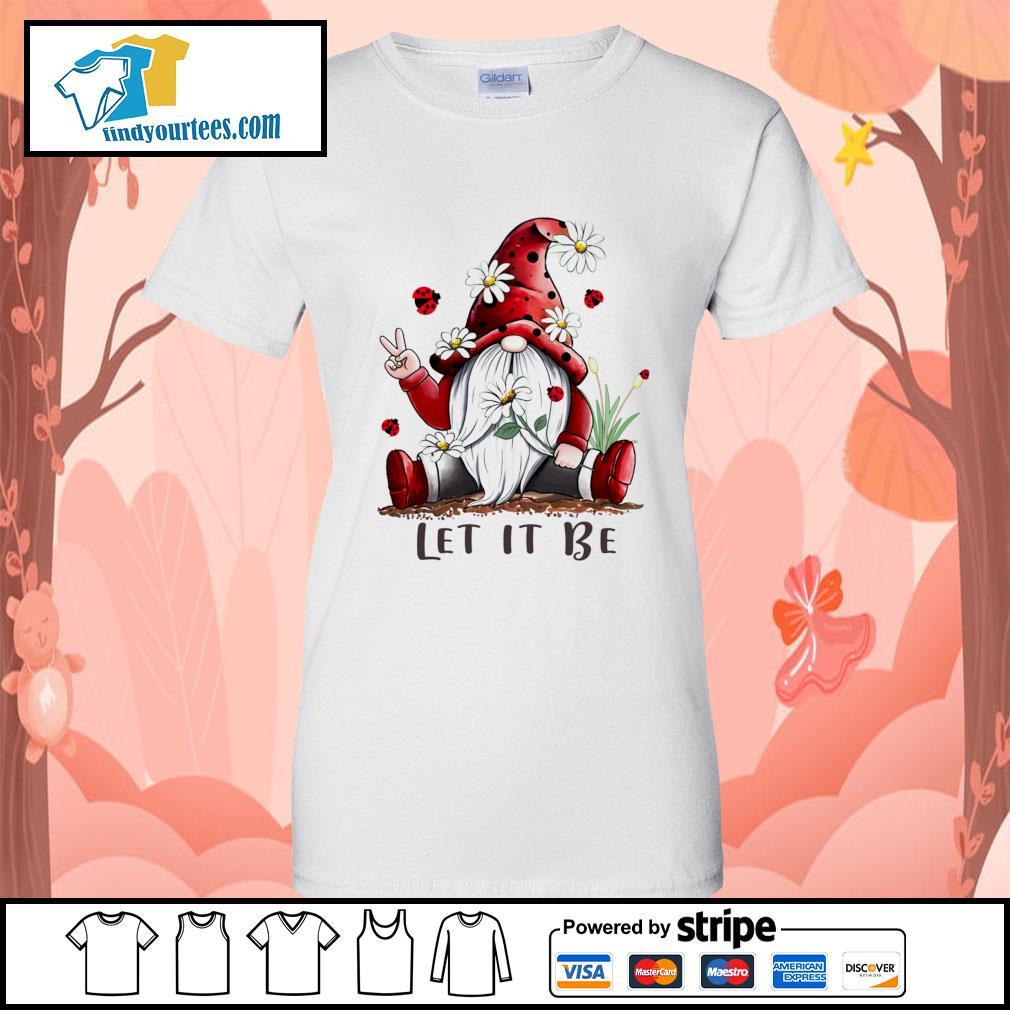 Red Gnomes let it be s Ladies-Tee