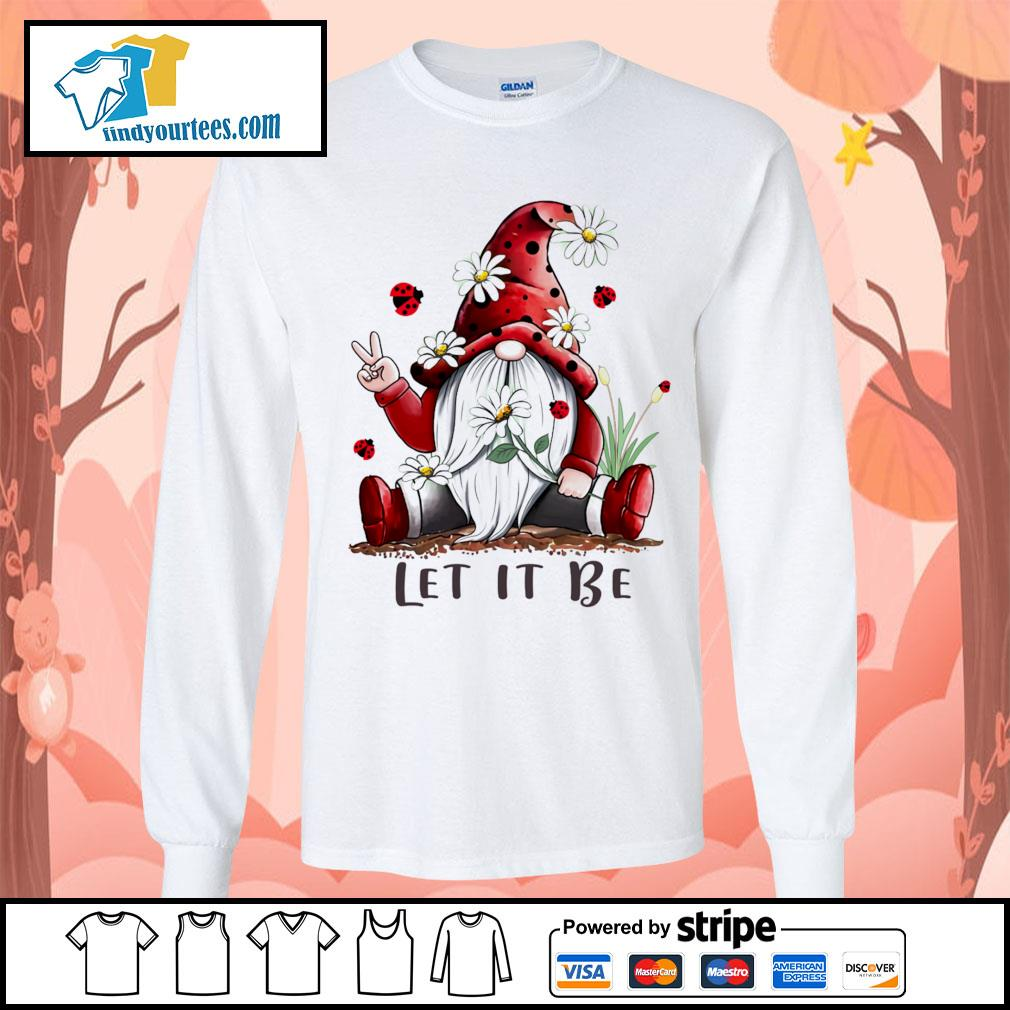 Red Gnomes let it be s Long-Sleeves-Tee