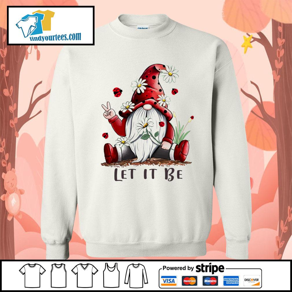 Red Gnomes let it be s Sweater