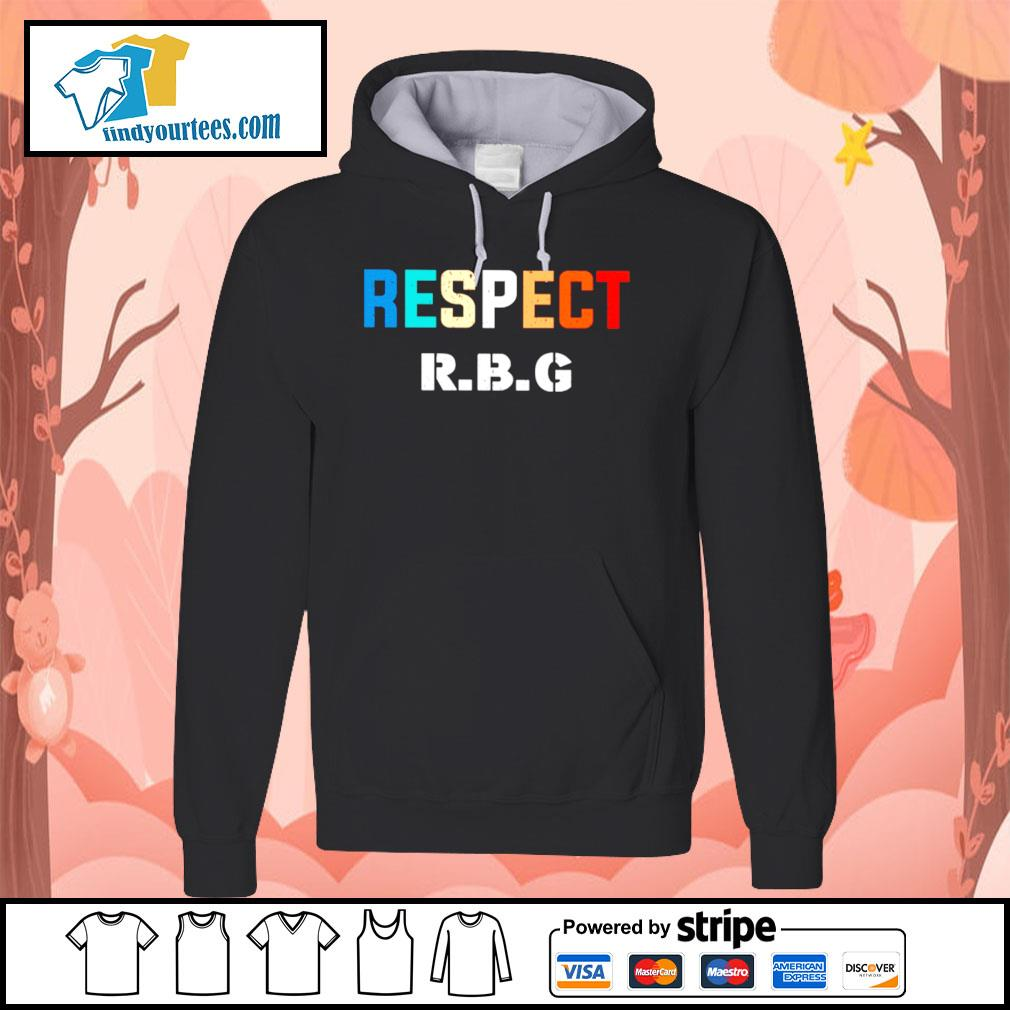 Respect Ruth Bader Ginsburg s Hoodie