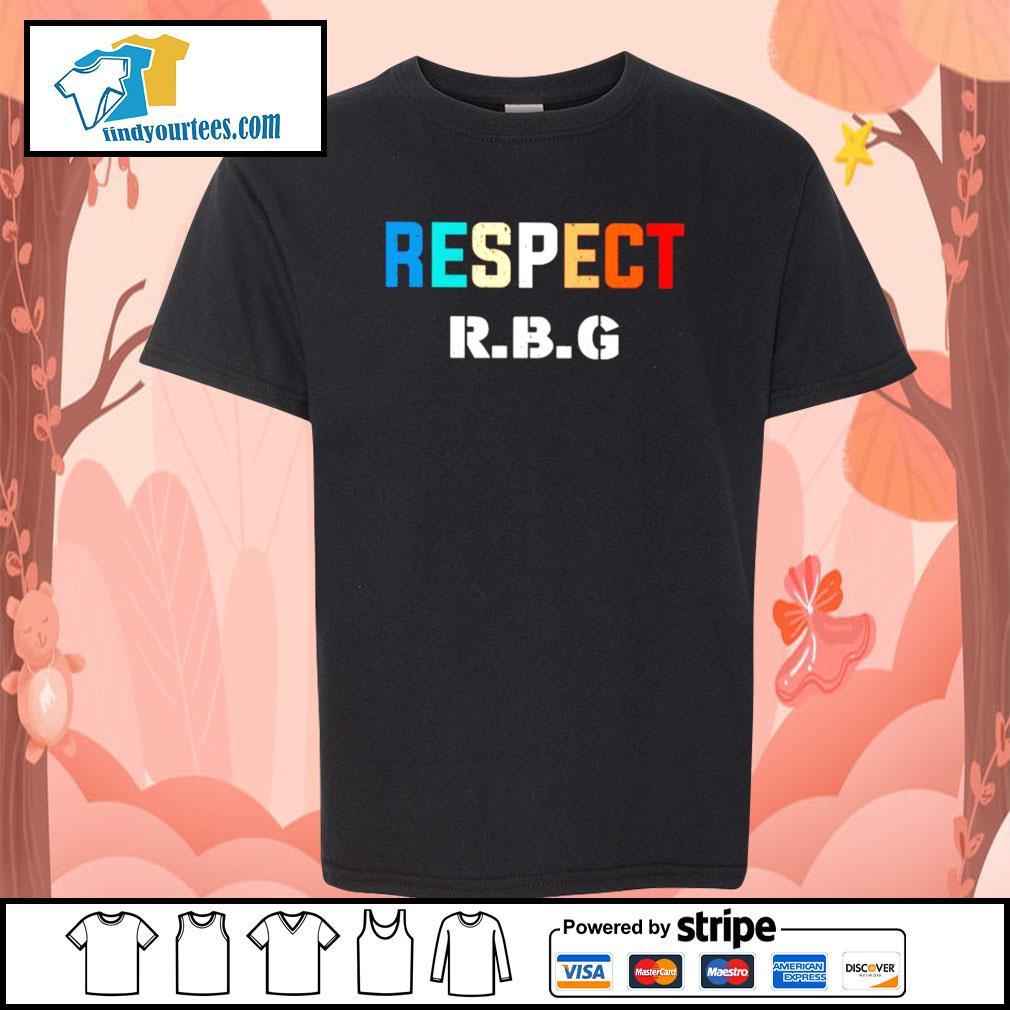 Respect Ruth Bader Ginsburg s Kid-T-shirt