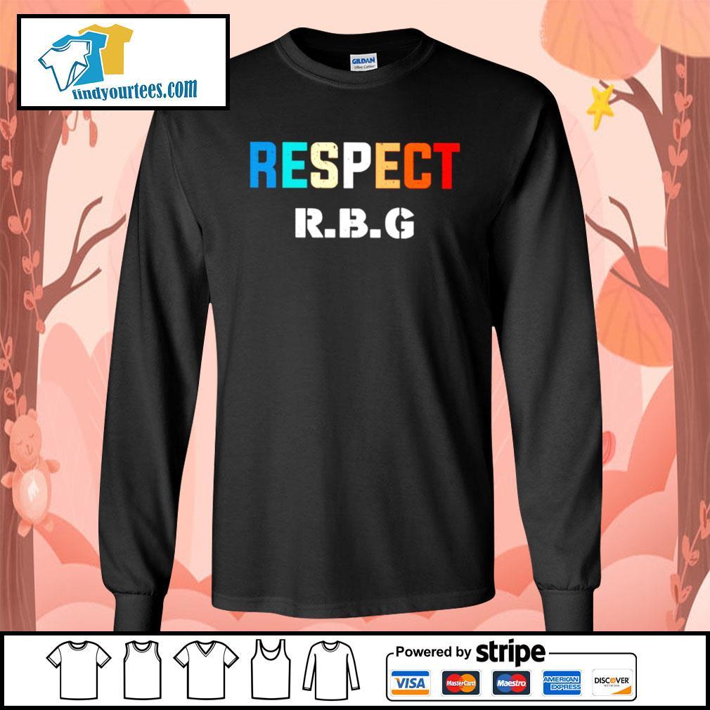 Respect Ruth Bader Ginsburg s Long-Sleeves-Tee