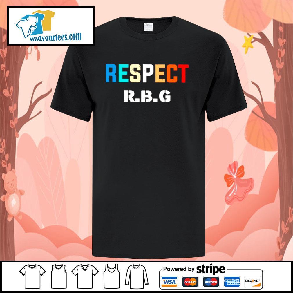 Respect Ruth Bader Ginsburg shirt