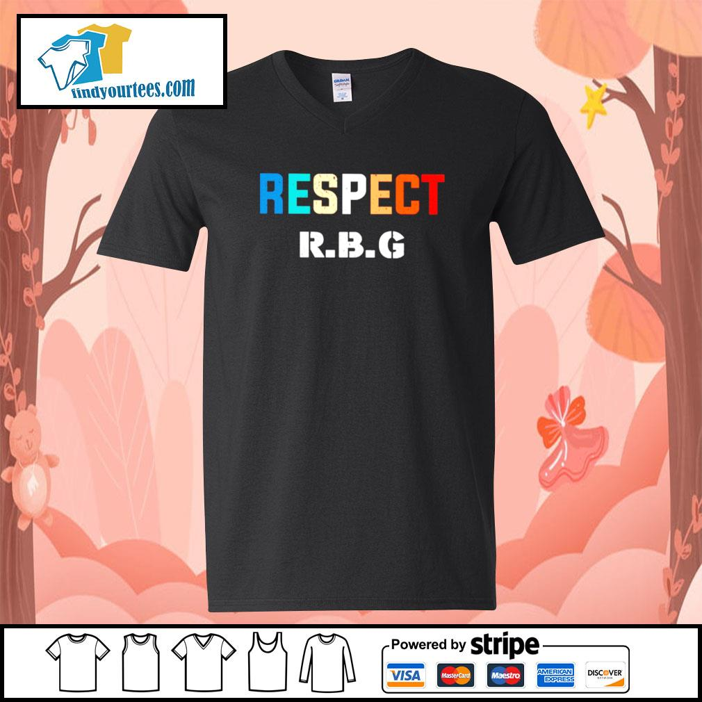 Respect Ruth Bader Ginsburg s V-neck-T-shirt