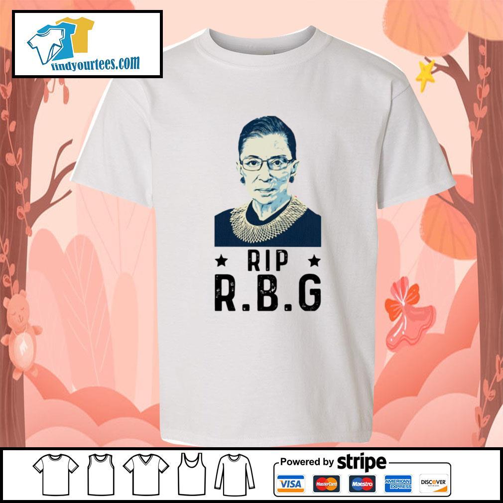 Rip RBG Ruth Bader Ginsburg s Kid-T-shirt