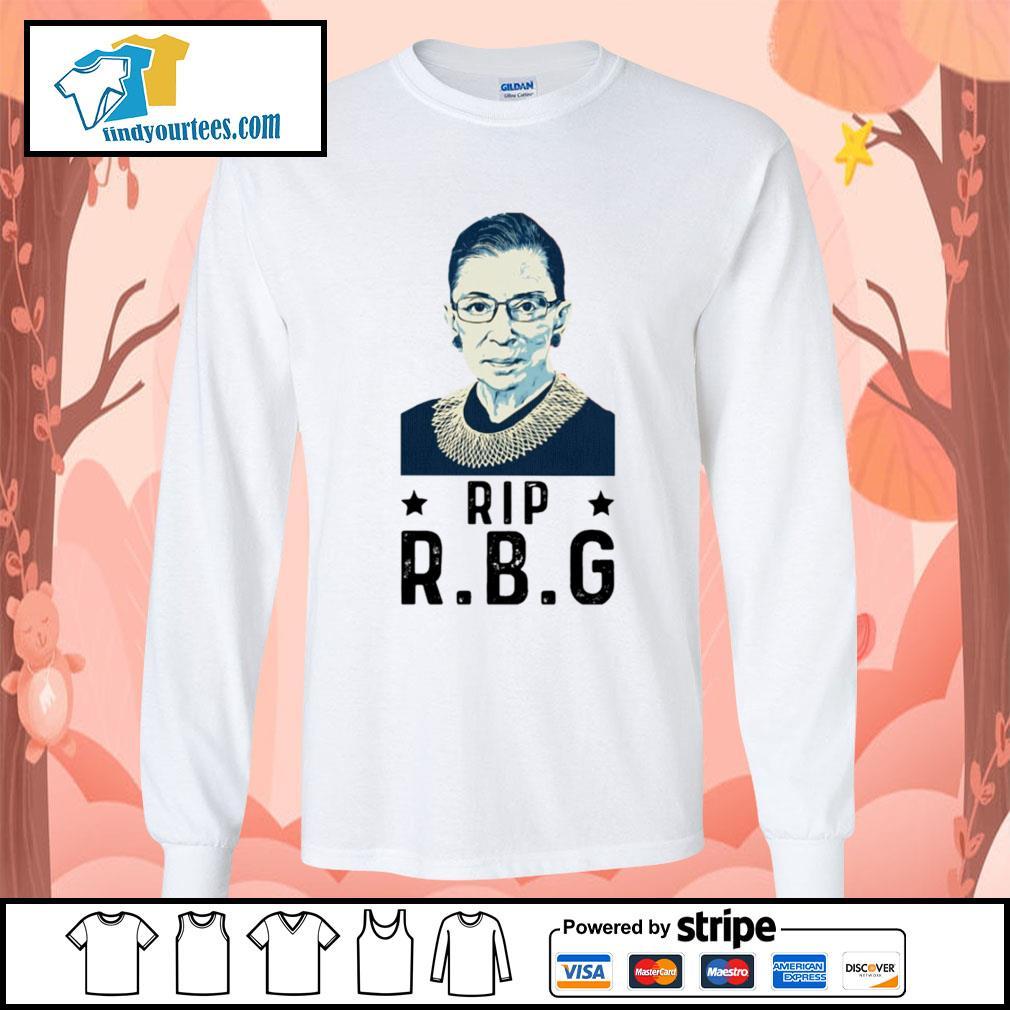 Rip RBG Ruth Bader Ginsburg s Long-Sleeves-Tee