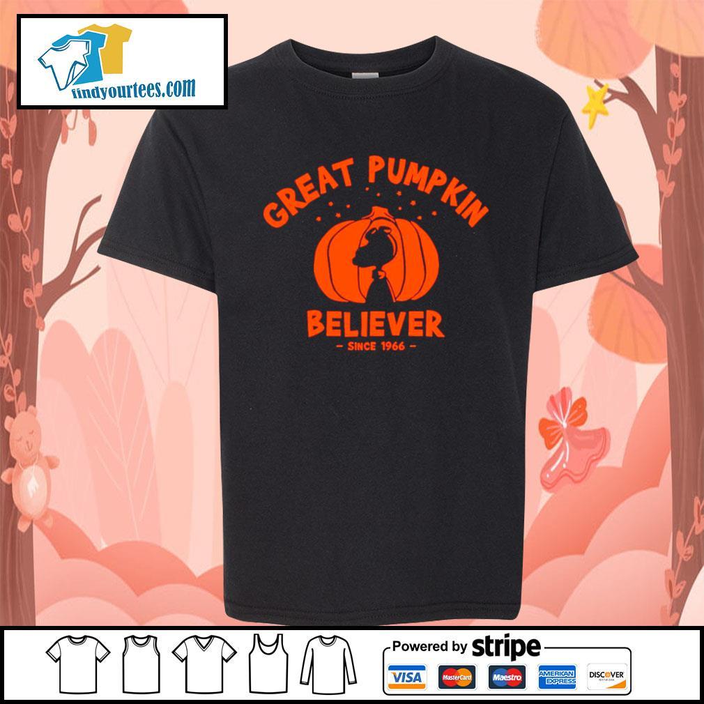 Since 1966 Great Pumpkin Believer Halloween Snoopy s Kid-T-shirt