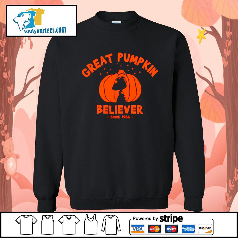 Since 1966 Great Pumpkin Believer Halloween Snoopy s Sweater