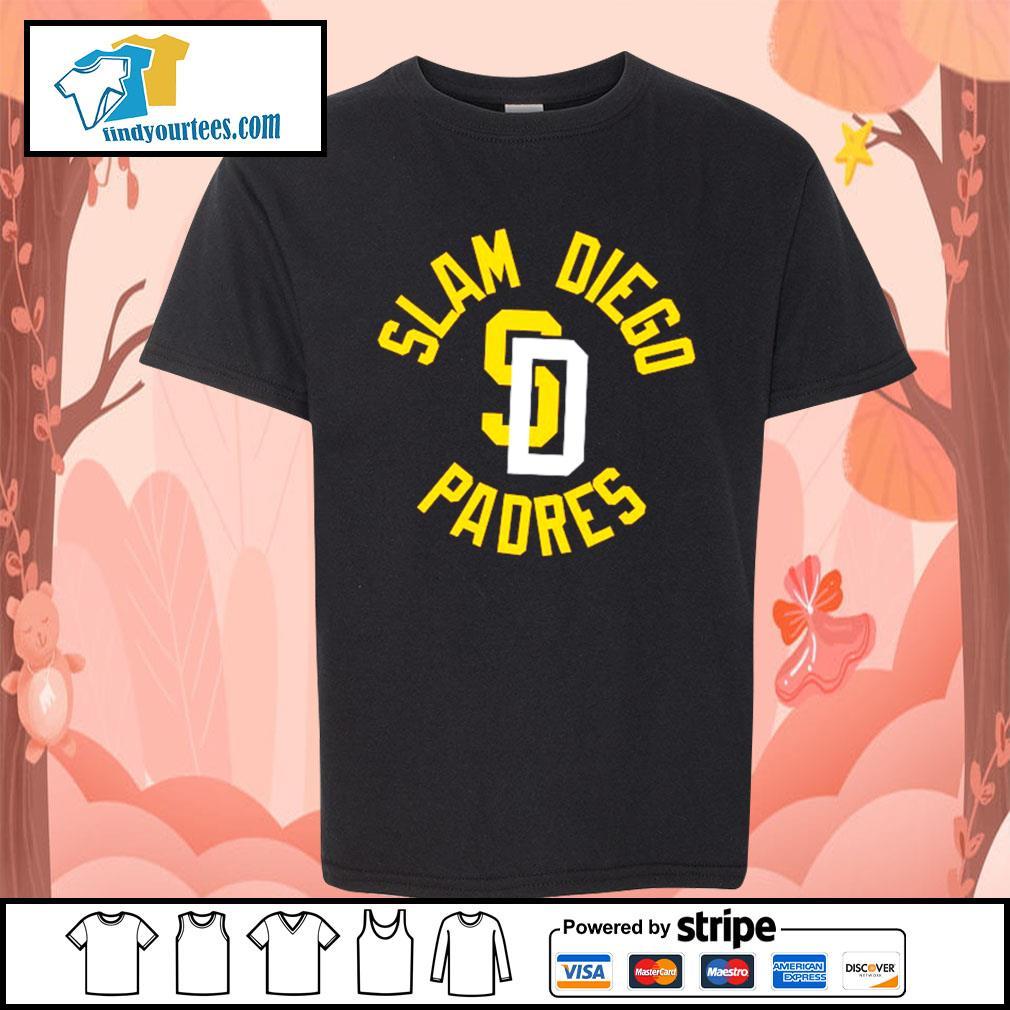 Slam Diego Padres s Kid-T-shirt
