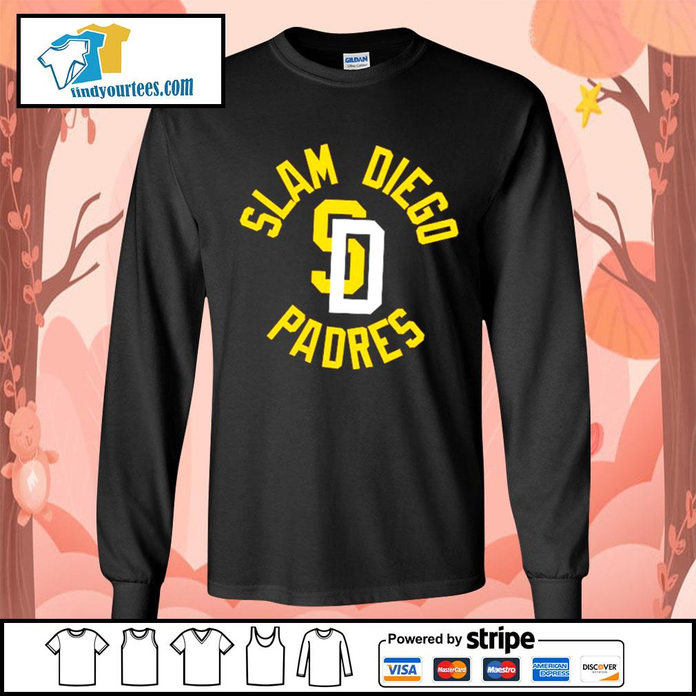 Slam Diego Padres s Long-Sleeves-Tee