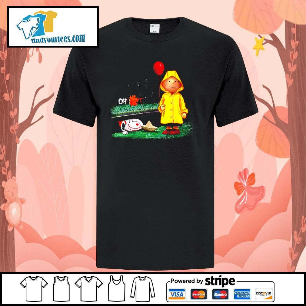 Snoopy And Charlie Brown Pennywise It shirt