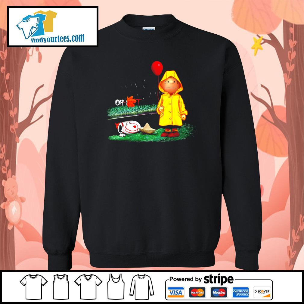 Snoopy And Charlie Brown Pennywise It s Sweater