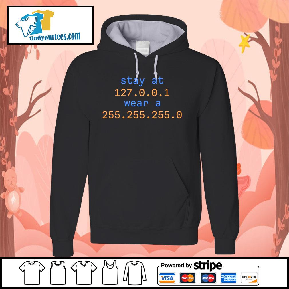 Stay at 127 0 0 1 wear a 255 255 255 0 s Hoodie