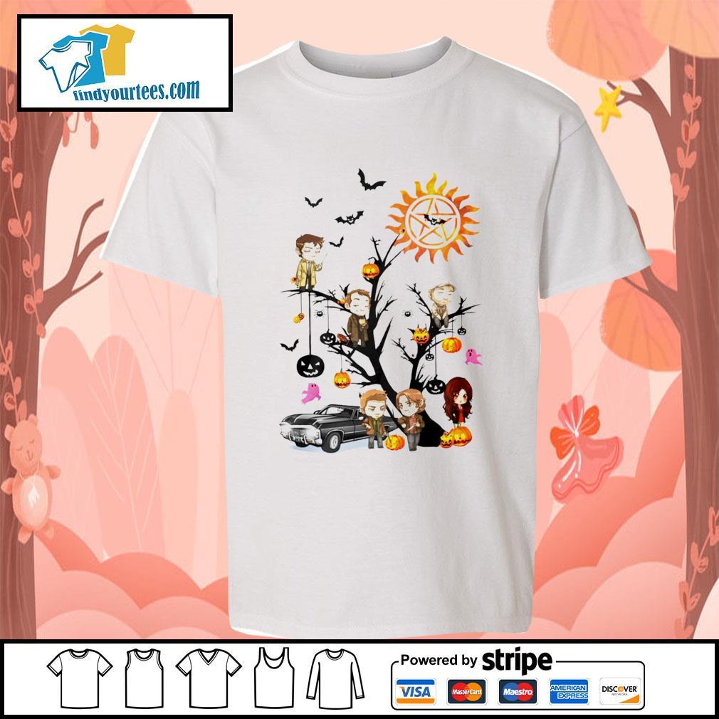 Supernatural tree Happy Halloween s Kid-T-shirt
