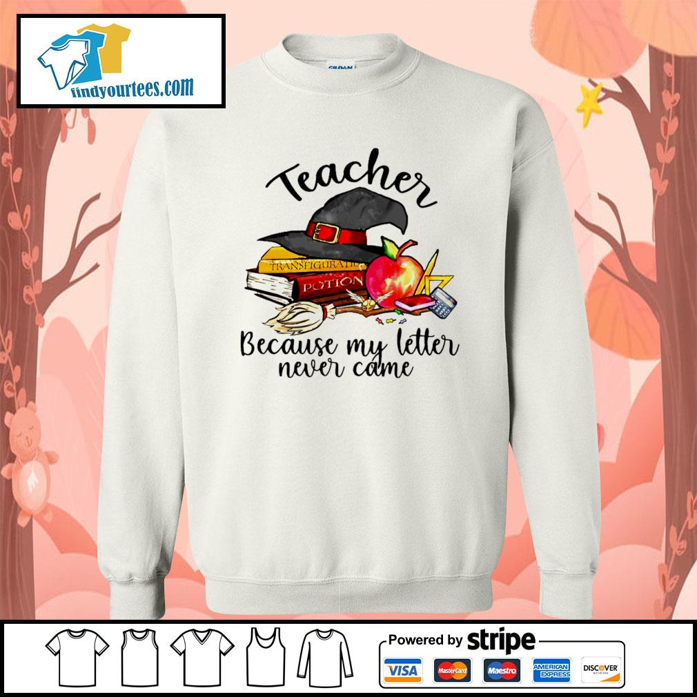 Teacher because my letter never came Halloween s Sweater