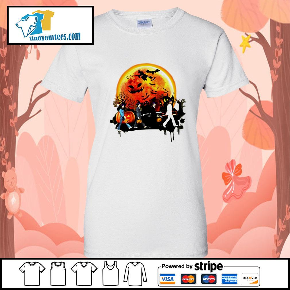 The Beatles Halloween moon s Ladies-Tee
