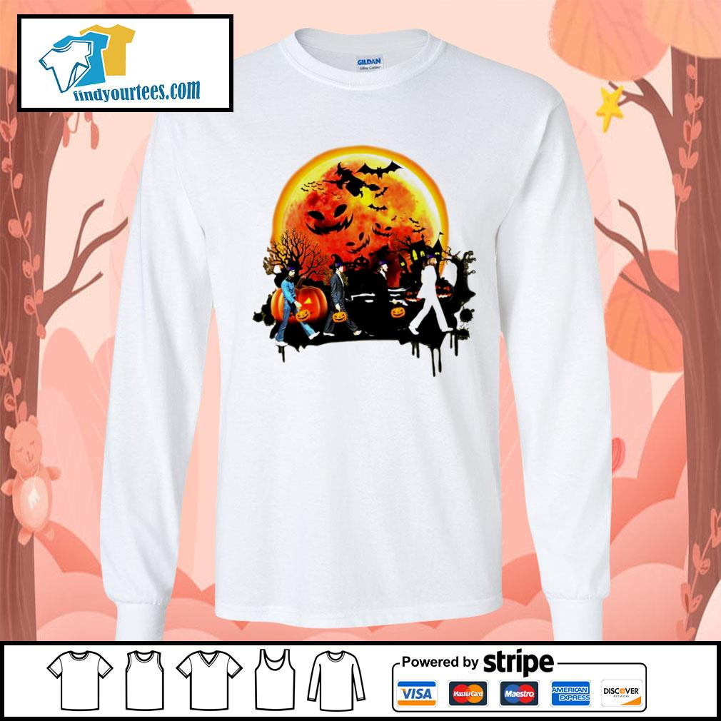 The Beatles Halloween moon s Long-Sleeves-Tee