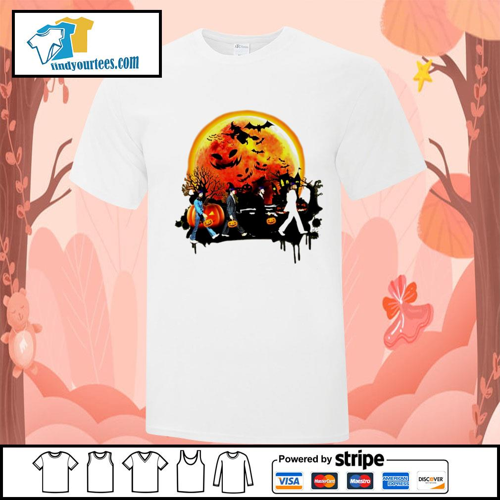The Beatles Halloween moon shirt