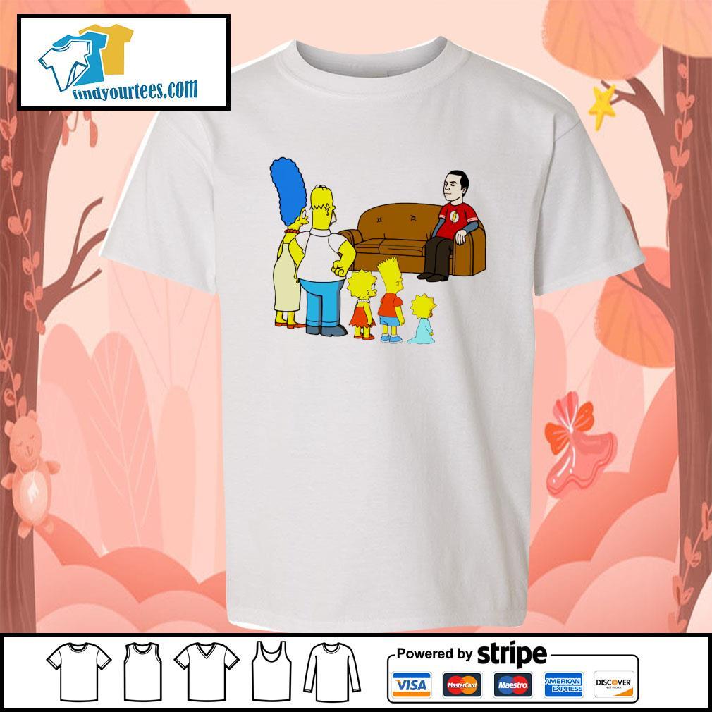 the simpsons Sheldon Cooper s Kid-T-shirt