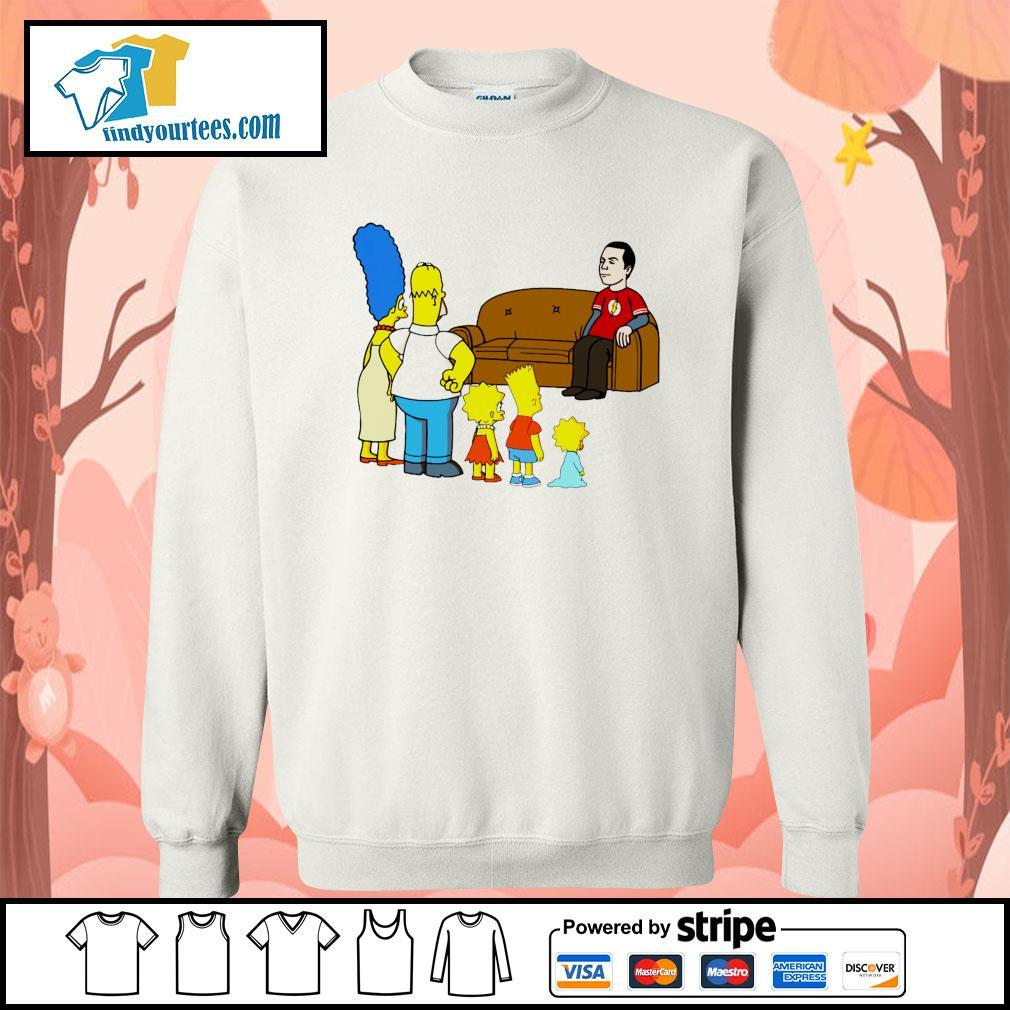 the simpsons Sheldon Cooper s Sweater