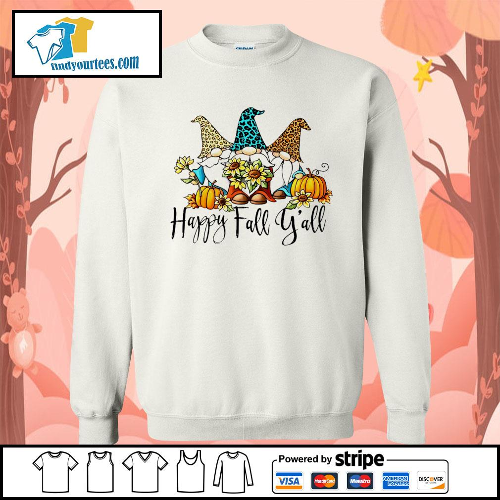 Three Gnomes happy fall y'all s Sweater
