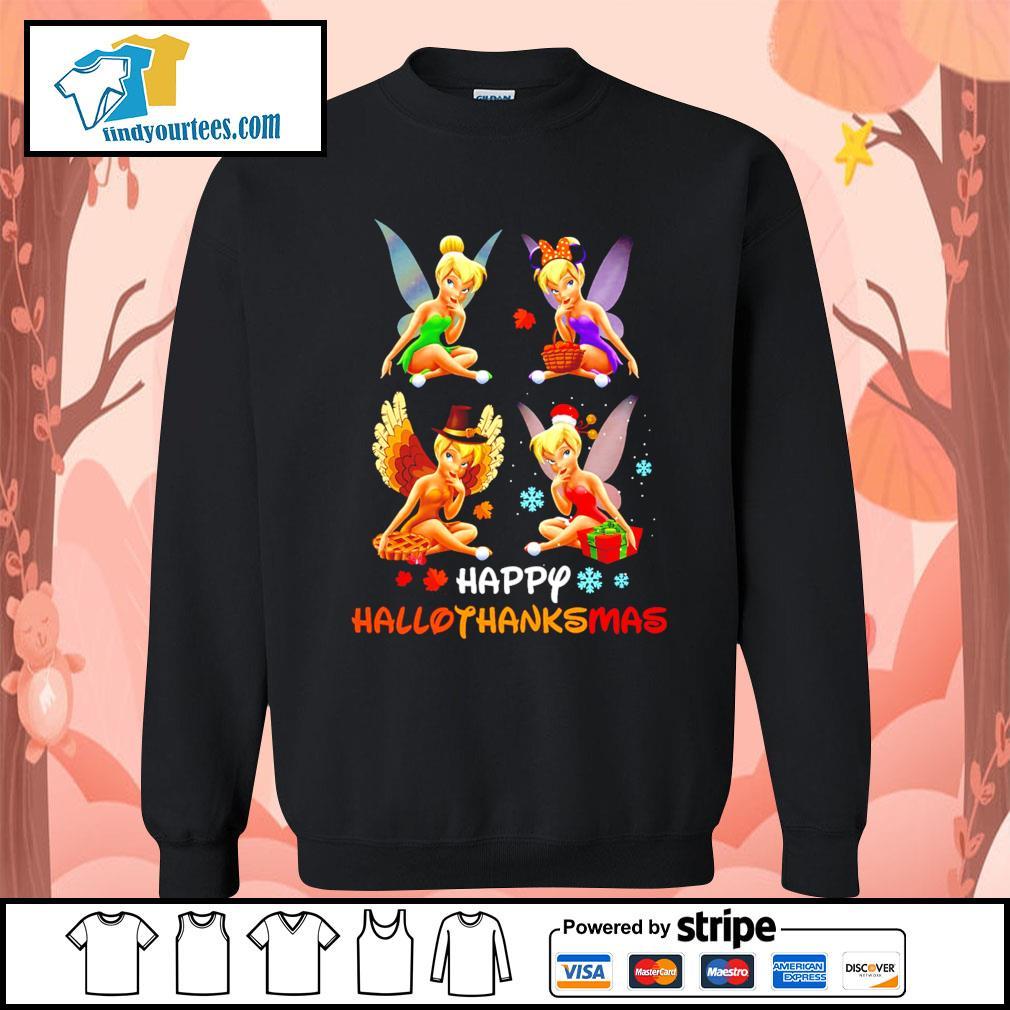 Tinkerbell Happy Hallothanksmas s Sweater