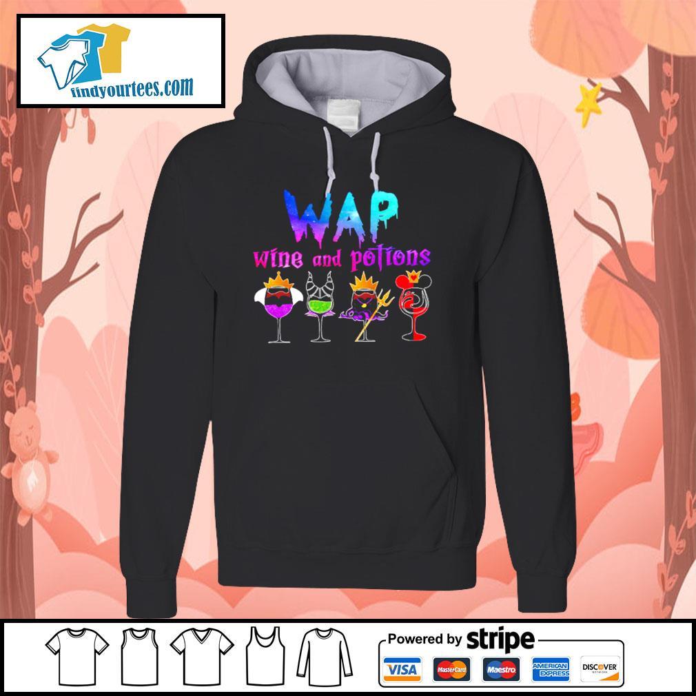 Wap wine and potions Halloween s Hoodie